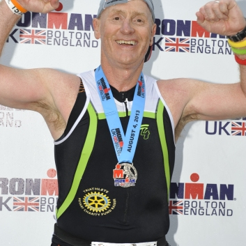 RCF - (P) Ironman UK - August 2013 - Steve Messam - Medal
