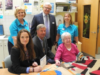 RCSCF - RCF (P) 2014 Cheque Pres. Powerman UK - (4) St Margaret's Hospice - RC SC