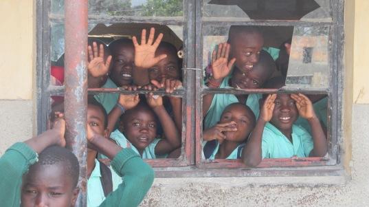 School Zambia style